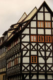 Erfurt betimmerde half 05 Stock Foto's