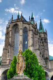 Erfurt Cathedral Royalty Free Stock Photos