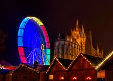 Erfurt christmas market Stock Photo