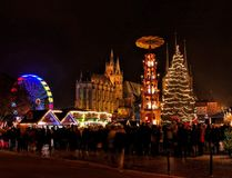 Erfurt christmas market Royalty Free Stock Photography