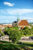 Erfurt city in Germany Royalty Free Stock Photo