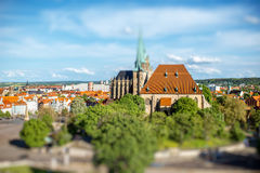 Erfurt city in Germany Royalty Free Stock Image