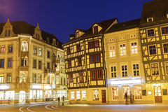Erfurt in the evening Stock Photography
