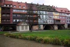 Erfurt Kraemerbruecke 06 Royaltyfri Bild