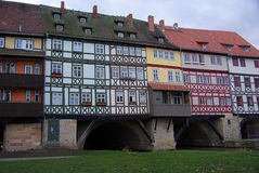 Erfurt Kraemerbruecke 09 Royaltyfri Foto