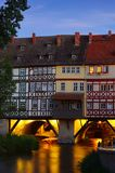 Erfurt Kraemerbruecke Royalty Free Stock Photos