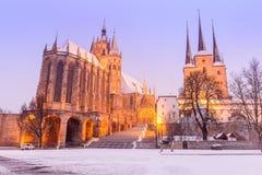 Erfurt - l'Allemagne Photo libre de droits