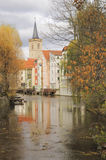 Erfurt storica, Thuringia, Germania Fotografia Stock