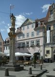 Erfurt. Street scenery of Erfurt, a city in Thuringia (Germany royalty free stock photos