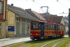 Erfurt turysty tramwaj Zdjęcie Stock