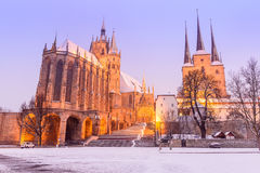 Erfurt - Tyskland Royaltyfri Foto