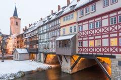 Erfurt - Tyskland Royaltyfri Fotografi