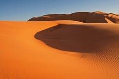 erg αμμόλοφων chebbi άμμος Στοκ φωτογραφία με δικαίωμα ελεύθερης χρήσης