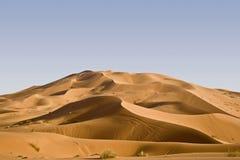 Erg Chebbi Dunes. In Morroco, Africa Stock Photo