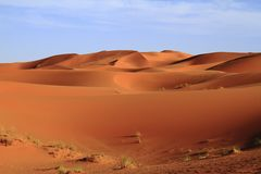 Erg Chebbi Royalty Free Stock Photos