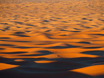 Erg Chebbi dunes in Morocco. ERG CHEBBI dunes range near MERZOUGA city with landscape of sandy desert formations in southeastern MOROCCO near border with Stock Image