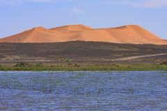 Erg Chebbi Morocco. Erg Chebbi near merzouga Morocco Royalty Free Stock Image