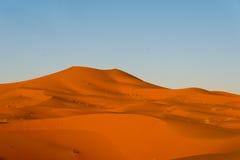 Erg chebbi. Sahara dunes in erg chebbi, morocco Stock Images