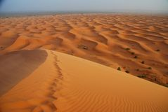 Erg Chebbi, Sahara, Marokko Stockbilder