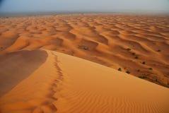 ERG Chebbi, Sahara, Marrocos Imagens de Stock