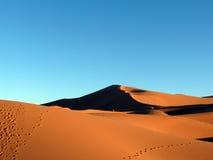 Erg Chebbi Sahara Sand Dunes Stock Photography