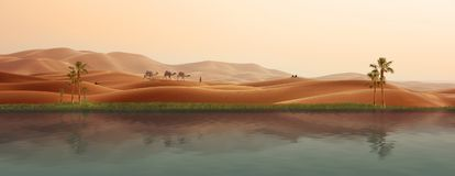 Erg, Desert, Aeolian Landform, Landscape stock photo