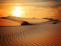 Erg, Desert, Sky, Singing Sand Stock Photos