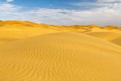 Erga Chebbi pustynia, Maroko Obraz Royalty Free