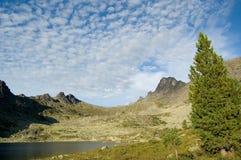 ergaki山国家公园 免版税库存照片
