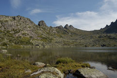 ergaki山国家公园 图库摄影