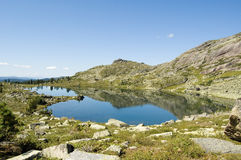 Ergaki national park mountains Royalty Free Stock Image