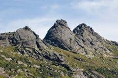 Ergaki Nationalparkberge Stockfotos