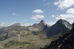 Ergaki Nationalparkberge Stockfoto