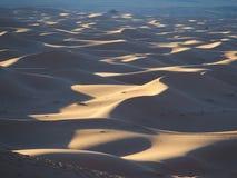 ErgChebbi dyn i Marocko Arkivfoton
