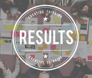 Ergebnis-Leistungs-Einschätzungs-Effekt werten Konzept aus stockfotos