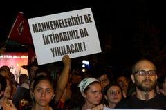 Ergenekon Conspiracy Protest Stock Photography