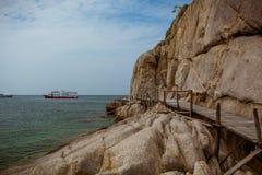 Ergens dichtbij Samui-eiland royalty-vrije stock afbeeldingen
