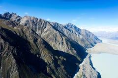 Ergens in Nieuw Zeeland Royalty-vrije Stock Afbeeldingen