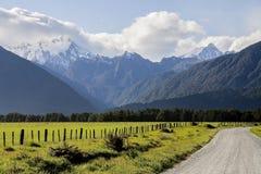 Ergens in Nieuw Zeeland stock afbeelding
