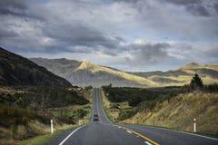 Ergens in Nieuw Zeeland Stock Foto