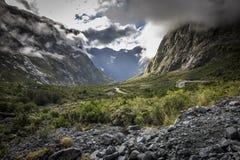 Ergens in Nieuw Zeeland Royalty-vrije Stock Foto