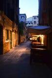 Ergens in Venetië Royalty-vrije Stock Foto's