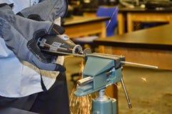 ERGER Robotica stock afbeeldingen