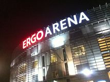 Ergo Arena in Gdansk, Poland Royalty Free Stock Photography