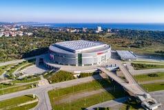 Ergo arena i Sopot, Gdansk, Polen Arkivfoton