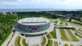 Ergo Arena, Sopot stock video footage