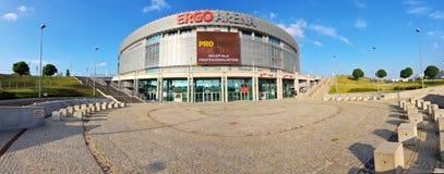 Ergo arena - sporty i rozrywki sala Zdjęcie Stock