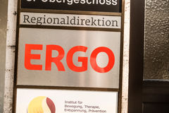 Ergo Regionaldirektion Stock Photography