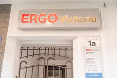 Ergo Victoria Stock Photo