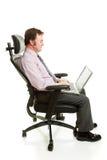 Ergonomia do local de trabalho Imagens de Stock